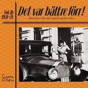Det Var Bättre Förr Volym 1b 1931-1935 Songs