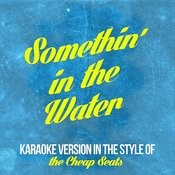 Somethin' In The Water (In The Style Of The Cheap Seats) [Karaoke Version] Song