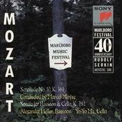 Mozart: Serenade, K. 361; Sonata For Bassoon & Cello, K. 292 Songs