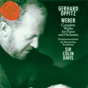 Weber: Complete Works For Piano And Orchestra Songs