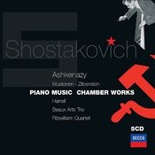 Shostakovich: Piano & Chamber Music (5 Cds) Songs