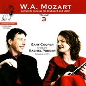 Mozart: Complete Sonatas For Keyboard And Violin, Vol. 3 Songs