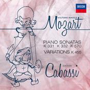Mozart: Piano Sonatas K 331, 332, 570 and Variations K 455 Songs