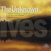 The Unknown Ives, Vol. 2 Songs