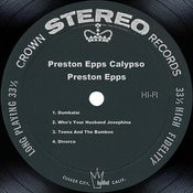 Preston Epps Calypso Songs