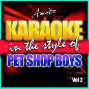 Karaoke - Pet Shop Boys Vol. 2 Songs