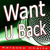 Want U Back (Originally Performed By Cher Lloyd) [Karaoke Version] Song