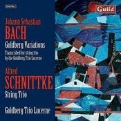 Bach: Goldberg Variations - Schnittke: String Trio Songs