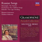 Mussorgsky: The Nursery, etc Songs