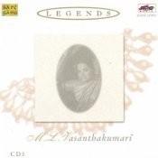 Legends M L Vasanthakumari Vol 3 Songs