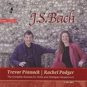 J.S. Bach: Sonatas For Violin And Obbligato Harpsichord Vol. 1 Songs