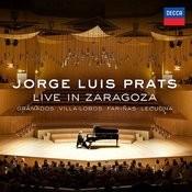 Jorge Luis Prats Live In Zaragoza Songs