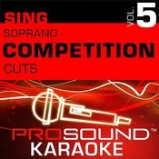 Competition Cuts - Soprano - Pop/Rock (Vol. 5) Songs