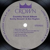 Country Vocal Album Songs