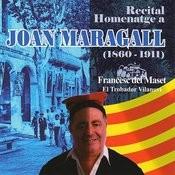 Recital Homenatge A Joan Maragall (1860-1911) Songs