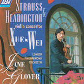 Strauss & Headington: Violin Concertos Songs