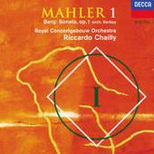 Mahler: Symphony No. 1 / Berg: Sonata, Op. 1 (Orch. Verbey) Songs