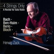 4 Strings Only-A Recital For Solo Violin Songs