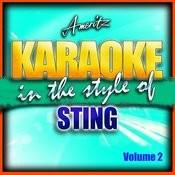 Karaoke - Sting Vol. 2 Songs