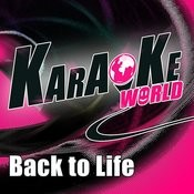 Back To Life (Originally Performed By 3oh!3)[Karaoke Version] Song
