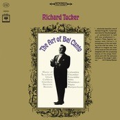 Richard Tucker - The Art of Bel Canto Songs
