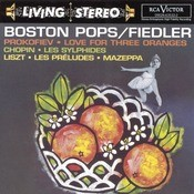 Prokofiev: Love For Three Oranges/Chopin: Les Sylphides/Lizst: Les Prludes; Mazeppa Songs