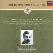 Butterworth: A Shropshire Lad; The Banks of Green Willow, etc. Songs