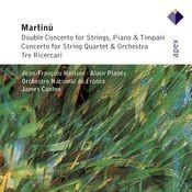 Martinu : String Concertos & 3 Ricercari (-  Apex) Songs