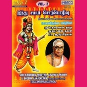 Hindu Religious Discourse In Tamil - Vol-3 Songs