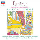 Poulenc: Piano Music & Chamber Works (5 Cds) Songs