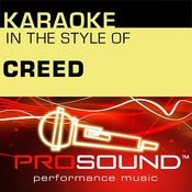 Karaoke: In The Style Of Creed (Professional Performance Tracks) Songs