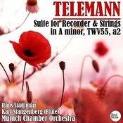Telemann: Suite For Recorder & Strings In A Minor, Twv55, A2 Songs