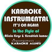 It's On Again (In The Style Of Alicia Keys & Kendrick Lamar) [Karaoke Instrumental Version] - Single Songs