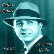 Así Canta Gardel - Vol. III Songs