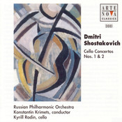 Shostakovich: Cello Concertos op. 107 + op. 126 Songs