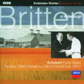 Schubert: Fantasy In F Minor For Piano Duet/Grand Duo Sonata in C Etc. Songs