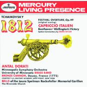 Tchaikovsky 1812 Festival Overture Op 49 Capriccio Italien Beethoven Wellingtons Victory Songs
