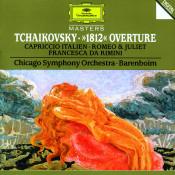 Tchaikovsky 1812 Overture Capriccio Italien Romeo Songs