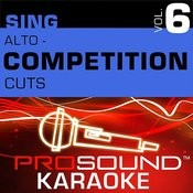 Saints And Angels (Competition Cut) [Karaoke Lead Vocal Demo]{In The Style Of Sara Evans} Song