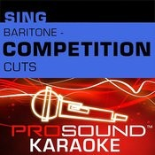The Dance (Competition Cut) [Karaoke Instrumental Track]{In The Style Of Garth Brooks} Song
