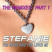 You Never Said You Loved Me - The Remixes - Part 1 Songs