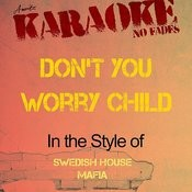 Don't You Worry Child (In The Style Of Swedish House Mafia) [Karaoke Version] Songs