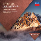 Brahms: Piano Concerto No.1; Handel Variations Songs