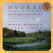 Dvorák: Piano Quartet No. 2 in E-flat Major, Op. 87; Sonatina in G, Op. 100; Romatic Pieces, Op. 75 - Expanded Edition Songs