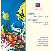 Mozart: Clarinet Quintet in A; Schubert: Piano Quintet in A -