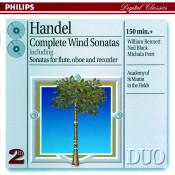 Handel Complete Wind Sonatas Songs