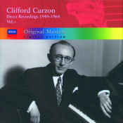 Clifford Curzon Decca Recordings 1949 1964 Vol 1 Songs