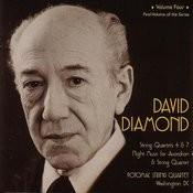 David Diamond String Quartets, Vol. 4 Songs