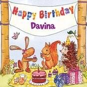 Happy Birthday Davina Songs