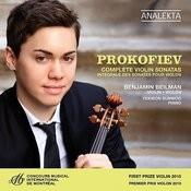 Prokofiev: Complete Violin Sonatas Songs